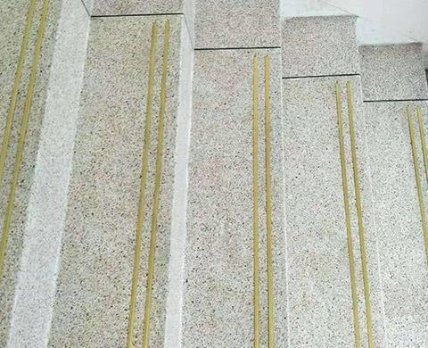 水磨石楼梯施工案例
